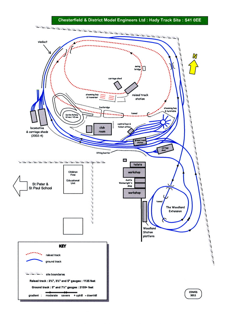 Hady site map 2011 1